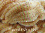 Chenille #166 Tropical Fruit 3 yard Pkg