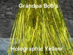 Holographic Flashabou Yellow
