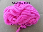 Crystal Antron Chenille Fl. Red