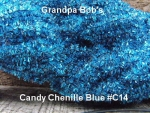 Candy Chenille - Blue #C14 3 Yd Package