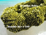 Chenille - Bumble Bee #106 - 3 Yard Package