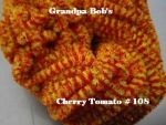 Chenille - Cherry Tomato #108 - 3 Yard Package