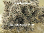 Chenille - Emerald Shiner #118 - 3 Yard Package