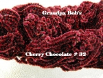 Chenille - Cherry Chocolate #32 - 72 Yard Skein