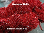 Chenille - Cherry Pearl #91 - 3 Yard Package