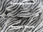 Rayon Chenille - Charcoal - 3 Yard Package