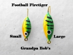 Football Ice Jig - Firetiger