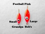 Football Ice Jig - Pink