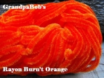 Rayon Chenille - Burn't Orange - 72 Yard Skein