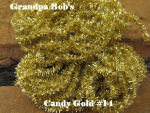 Candy Chenille - Gold #C14 - 3 Yard Package