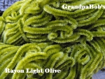 Rayon Chenille - Light Olive - 3 Yard Package
