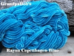 Rayon Chenille - Copenhagen Blue - 3 Yard Package