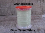 Glow Tinsel White