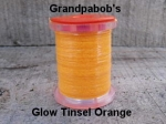 Glow Tinsel Orange