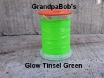 Glow Tinsel Green