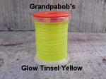 Glow Tinsel Yellow
