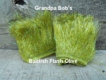 Bait Fish Flash Olive