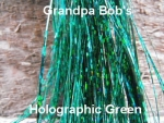 Holographic Flashabou Green