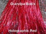 Holographic Flashabou  Red
