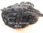 Crystal Antron Chenille Black