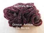 Crystal Antron Chenille  Dk. Brown