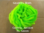 Crystal Antron Chenille Fl. Green