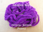 Crystal Antron Chenille Purple