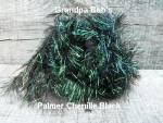 Palmered Chenille Black