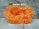 Palmered Chenille Orange