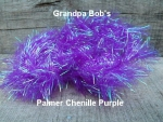 Palmered Chenille Purple