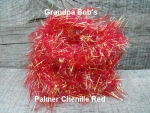 Palmered Chenille Red