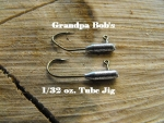 Tube Jigs - 1/32 oz - 100 Count Bag