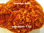 Chenille - Amberstone #27 - 3 Yard Package