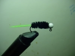 Tippet - White/black/Green
