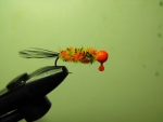Tippet - Orange/Clown/Black