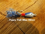 Fancy Tail - Silver and Blue