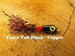 Fancy Tail - Black and Copper