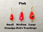 Teardrop Ice jig - Pink