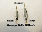 Willow Leaf Ice jig - Minnow